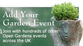 add your Open Garden event