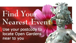 find an Open Gardens event near to you